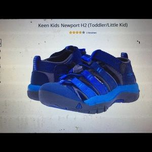 Almost brand new KEEN kids NewportH2 sandal shoes